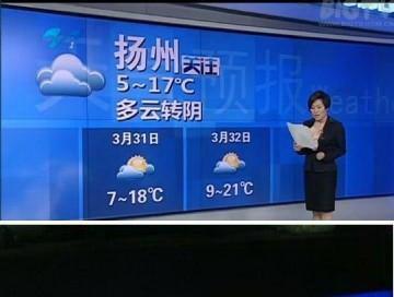 В Китае передали прогноз на 32 марта