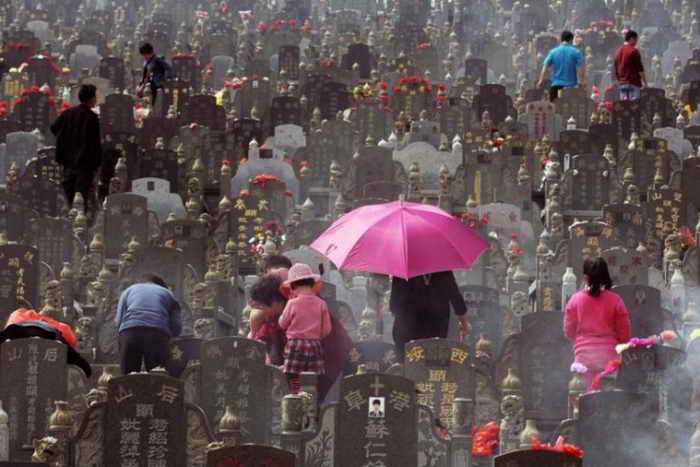 Коммерция в китайский день поминовения