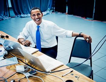 92 34 obama 350  - В Google+ пользователи  Китая оккупировали страницу президента США
