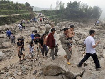 Оползни в Китае привели к гибели 50 человек