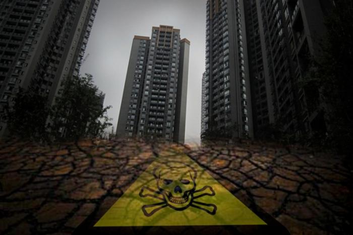 В Китае жилые дома строят в бывших химических промзонах