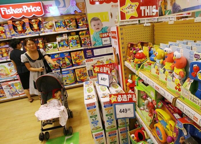 Производство токсичных игрушек в Китае растёт