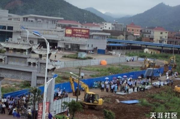 191 changlin 3 - Насильственный отъем земли в деревне Чанлинь на юго-востоке Китая