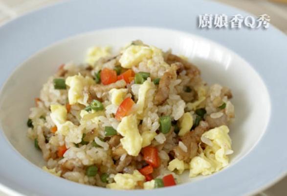 Паровой рис с китайским рагу