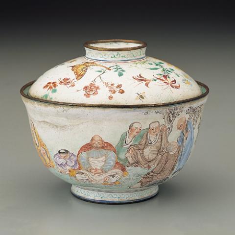 Изысканные предметы с китайской эмалью. Часть2