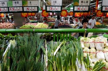 В Китае дорожают продукты