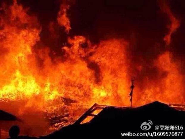 142 baojin2 - В Китае сгорел ещё один древний посёлок