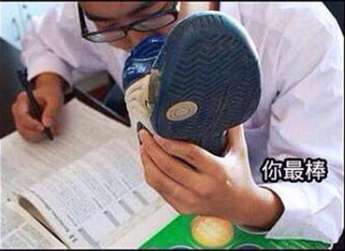 Как китайские студенты готовятся к экзаменам