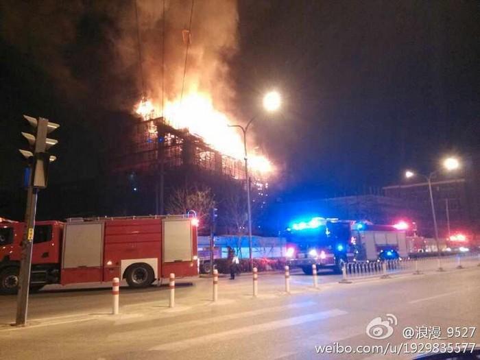 Пожары охватили Китай