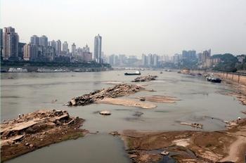 В реке Янцзы исчезает рыба