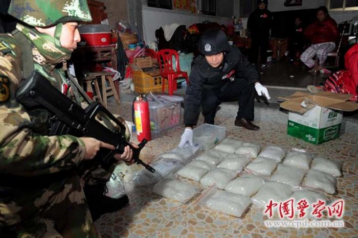 В Китае обнаружили метамфетаминовую деревню