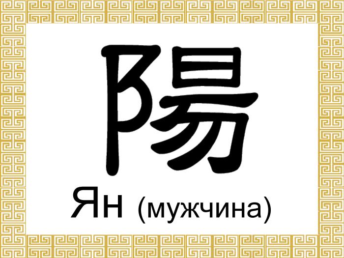 191 man1 - Китайские иероглифы: инь и ян