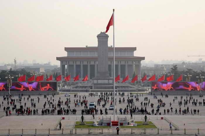 197 Tiananmen Square - Ли Дуншэн — один из организаторов «шоу ненависти» в Китае
