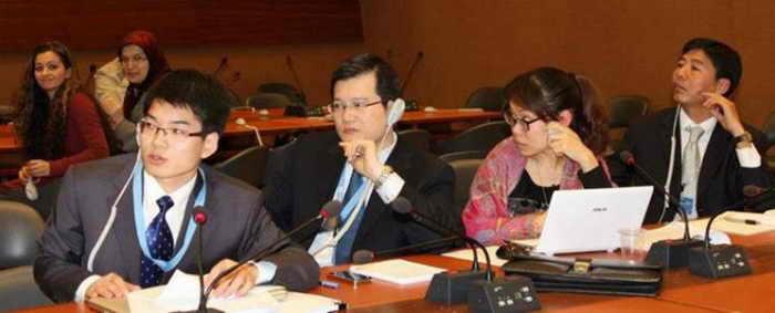 197 UNDelegation 2 - Китайская делегация опозорилась на сессии ООН по правам человека