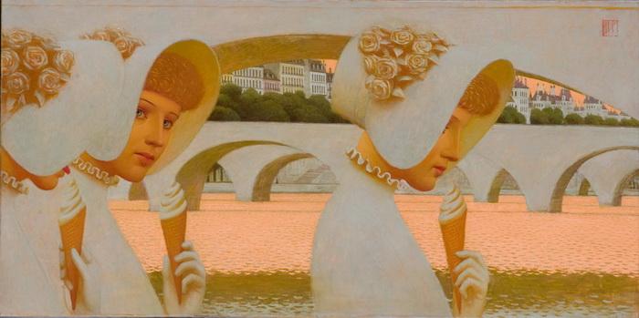 Выставка живописи «Диалоги» на «Варшавке»: красота и духовность русской культуры