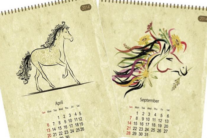 5 необычных совпадений в 2014 году Лошади