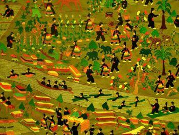 Уникальные ткани и вышивка народности Hmong – история нации