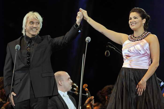 Звёзды оперы Дмитрий Хворостовский и Анна Нетребко выступят вместе на Красной площади