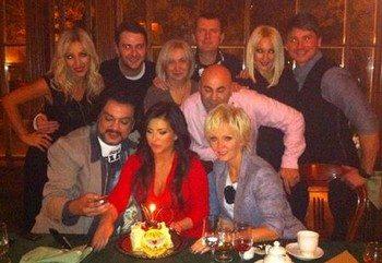 Ани Лорак отпраздновала свой день рождения в кругу друзей