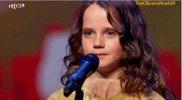 Девятилетняя Амира Виллихаген потрясла весь мир исполнением оперной арии на шоу «Голландия ищет таланты»