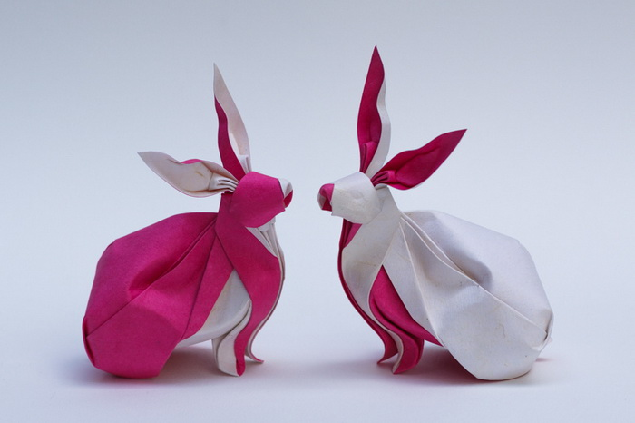 Удивительные оригами-скульптуры