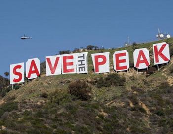 """Эпохальная надпись """"Hollywood"""" может исчезнуть навсегда"""