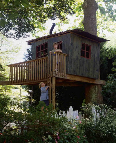 Дом на дереве: возвращение к природе - возвращение к себе