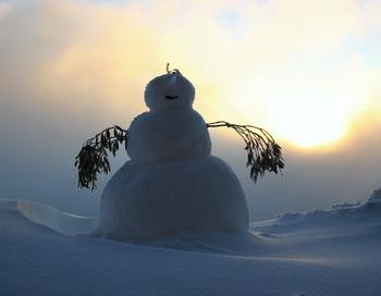 Снеговик. Сказка