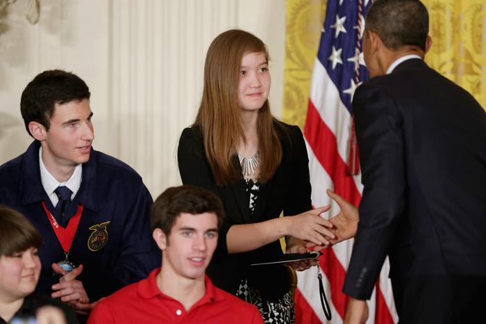 200 230413Obama 17 - Научная ярмарка прошла в Белом доме