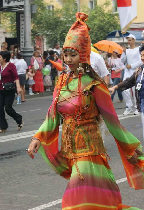 Красочный карнавал прошел  в Красноярске