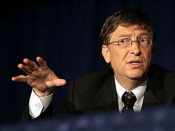 """Билл Гейтс - создатель корпорации Microsoft (США). Из серии """"О ста гениях современности"""""""