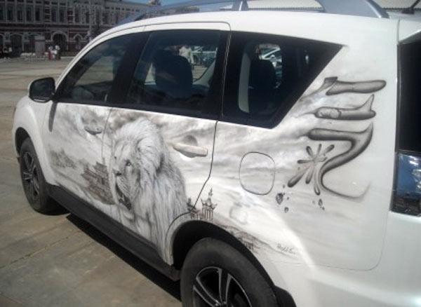 Индивидуальность автомобиля в его рисунке