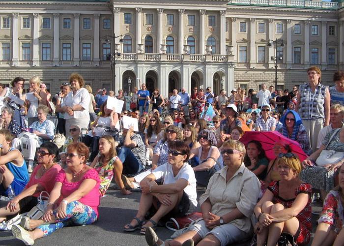 Открытый Петербург. Живая жизнь парков, площадей и воды