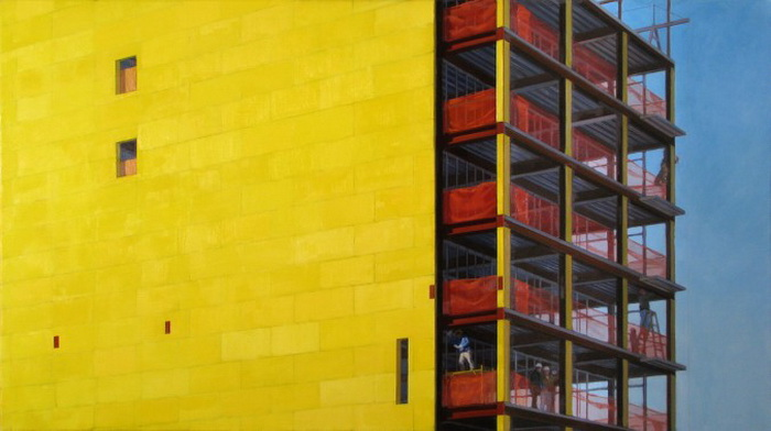 Художник Эрик Марч передаёт неповторимую атмосферу Нью-Йорка