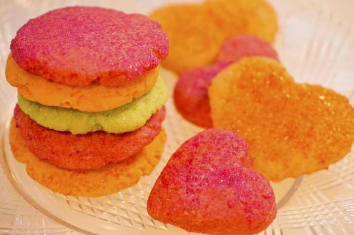 Малиновое печенье ко Дню влюблённых