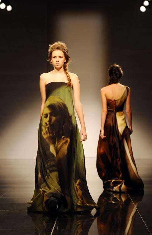 Показом Джайлса Дикона открылась Неделя моды в Санкт-Петербурге