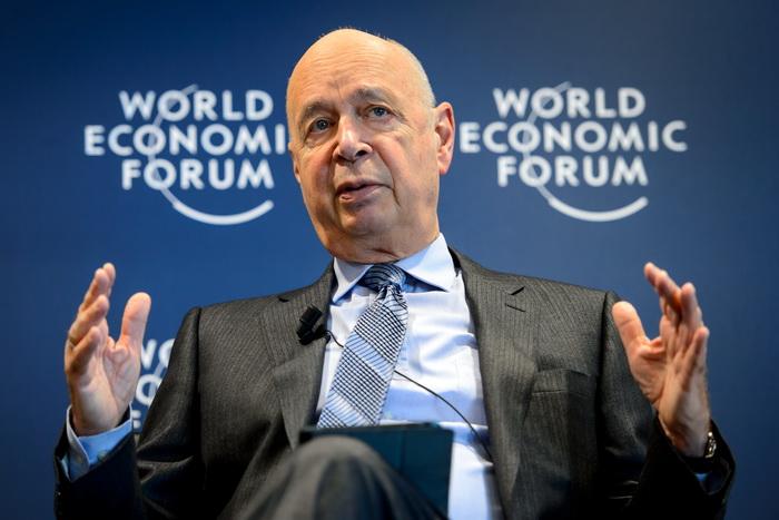 191 klaus shwab - В Давосе открылся ежегодный Всемирный экономический форум