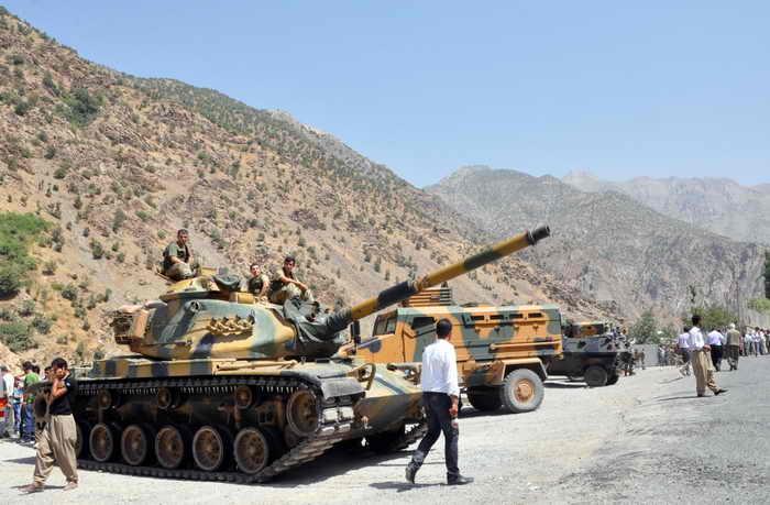 В Турции девять силовиков погибли в ходе столкновений с боевиками