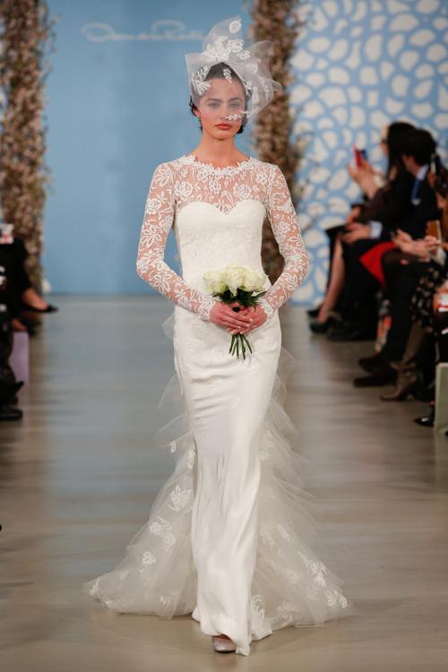 Свадебные платья Оскара де ла Рента представили в Нью-Йорке