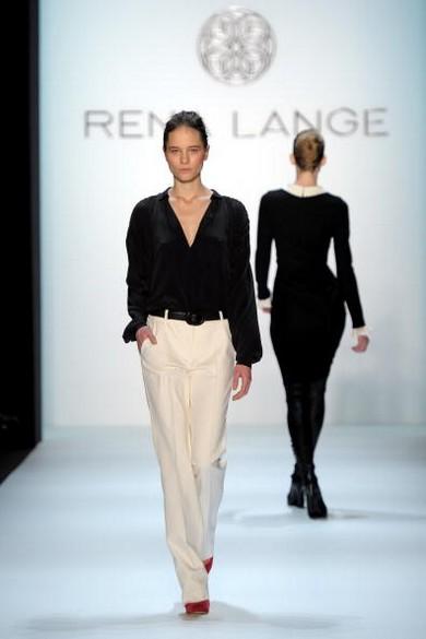 Неделя моды Mercedes-Benz в Берлине. Коллекция Rena Lange сезона осень-зима 2010