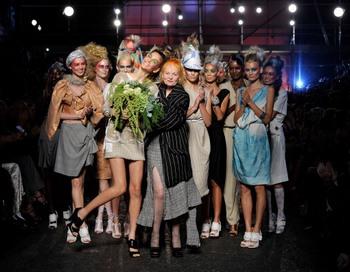 Лондонская Неделя моды весна 2012