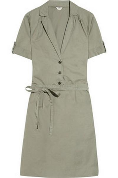 Тренд сезона:  платье сафари