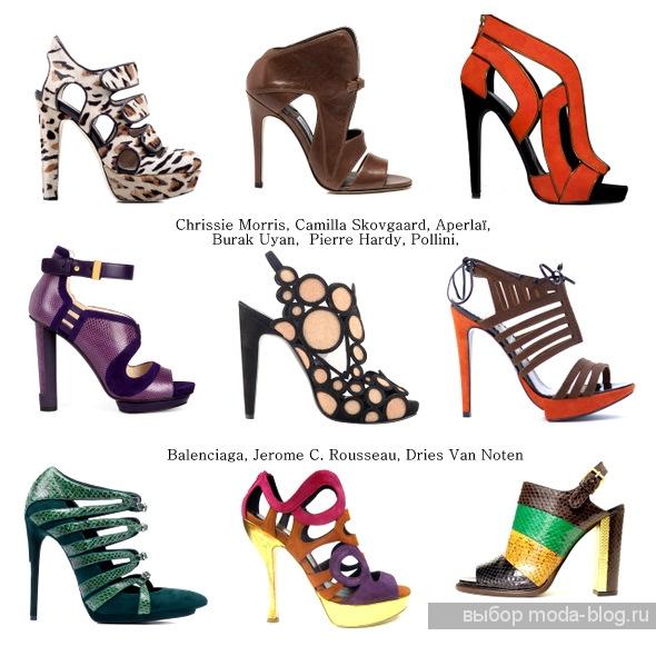 Модные туфли сезона осень-зима 2011-2012