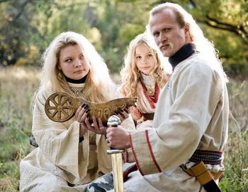 Традиционная русская культура. Созидание потомства: младенчество