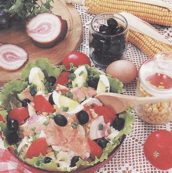Салаты и лазанья из баклажанов