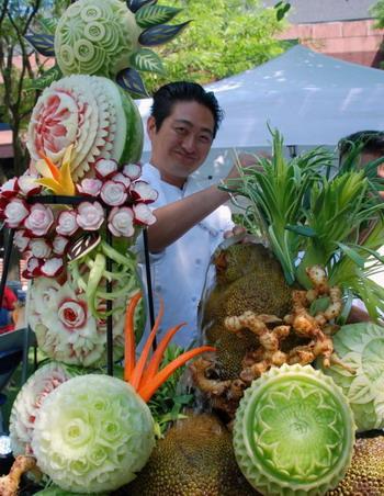 Искусство создания изделий из фруктов и овощей