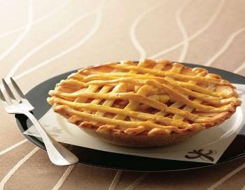 191 pingguo 1 - Яблочный пирог с кунжутом