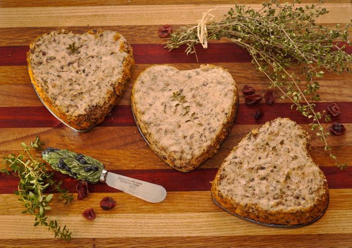 Грибное масло портобелло с травами для праздничного стола