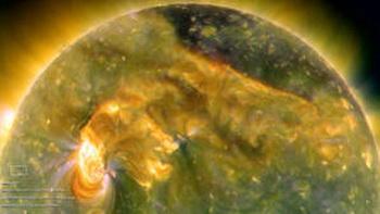 102 1 - Солнечное цунами – геомагнитный шторм на Земле