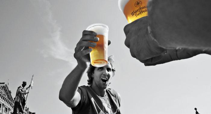 Что творится в головном мозге при употреблении алкоголя?